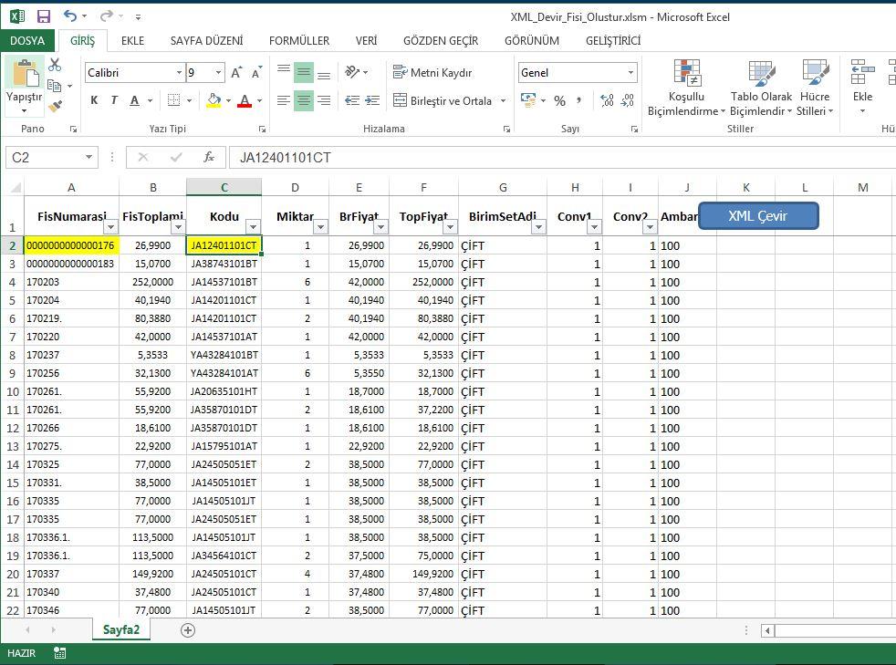 Excel-Logo XML Oluşturucu Projesi